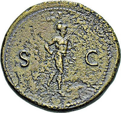 Ogn numismatique ARCHIVES VENTE 9 mars 2018 - Coll. Dr P. Corre EMPIRE ROMAIN VESPASIEN (69-79)  4- Sesterce, Rome, 71.