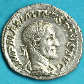 Ogn numismatique MONNAIES EMPIRE ROMAIN MAXIMIN Ier (235-238)  Denier.