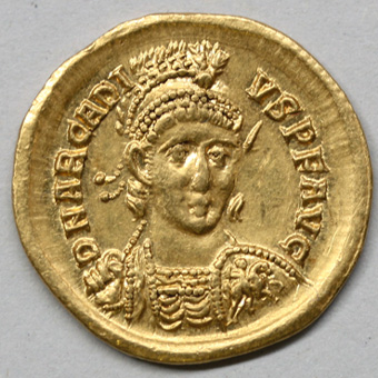 Ogn numismatique MONNAIES EMPIRE ROMAIN ARCADIUS (383-408)  Solidus.