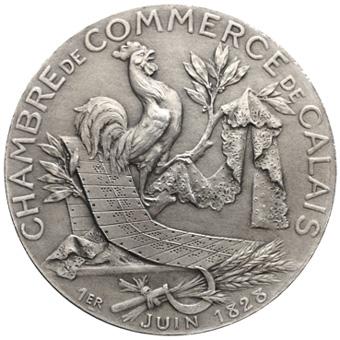 Medailles p riode moderne chambre de commerce calais pas - Chambre internationale de commerce ...