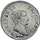 Photo numismatique  ARCHIVES VENTE 2014 -Coll J P Dixméras MODERNES FRANÇAISES BONAPARTE, 1er consul (24 décembre 1799-18 mai 1804)  598- Quart (de franc), Nantes an 12.