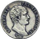 Photo numismatique  ARCHIVES VENTE 2014 -Coll J P Dixméras MODERNES FRANÇAISES BONAPARTE, 1er consul (24 décembre 1799-18 mai 1804)  596- Demi-franc, Paris an 12.