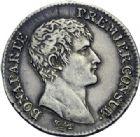 Photo numismatique  ARCHIVES VENTE 2014 -Coll J P Dixméras MODERNES FRANÇAISES BONAPARTE, 1er consul (24 décembre 1799-18 mai 1804)  595- 1 franc, Paris an 12.