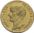 Photo numismatique  ARCHIVES VENTE 2014 -Coll J P Dixméras MODERNES FRANÇAISES BONAPARTE, 1er consul (24 décembre 1799-18 mai 1804)  591- 20 francs or, Paris an 12.