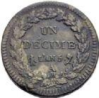 Photo numismatique  ARCHIVES VENTE 2014 -Coll J P Dixméras MODERNES FRANÇAISES LE CONSULAT (à partir du 24 décembre 1799-18 mai 1804)  585- Lot de 23 monnaies.