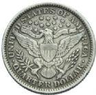 Photo numismatique  MONNAIES MONNAIES DU MONDE ÉTATS-UNIS d'AMÉRIQUE du NORD Depuis 1776 Quart de dollar par Barber, 1899.