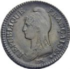 Photo numismatique  ARCHIVES VENTE 2014 -Coll J P Dixméras MODERNES FRANÇAISES LE DIRECTOIRE (27 octobre 1795-10 novembre 1799)  574 - Un décime, Paris an 7.