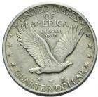 Photo numismatique  MONNAIES MONNAIES DU MONDE ÉTATS-UNIS d'AMÉRIQUE du NORD Depuis 1776 Quart de dollar, 1918.
