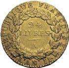 Photo numismatique  ARCHIVES VENTE 2014 -Coll J P Dixméras MODERNES FRANÇAISES LA CONVENTION (22 septembre 1792 - 26 octobre 1795)  561- Louis d'or de 24 livres, Paris 1793 an II.