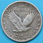 Photo numismatique  MONNAIES MONNAIES DU MONDE ÉTATS-UNIS d'AMÉRIQUE du NORD Depuis 1776 Quart de dollar de 1919.