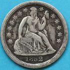 Photo numismatique  MONNAIES MONNAIES DU MONDE ÉTATS-UNIS d'AMÉRIQUE du NORD Depuis 1776 One dime.