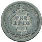 Photo numismatique  MONNAIES MONNAIES DU MONDE ÉTATS-UNIS d'AMÉRIQUE du NORD Depuis 1776 One dime, 1876.