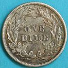 Photo numismatique  MONNAIES MONNAIES DU MONDE ÉTATS-UNIS d'AMÉRIQUE du NORD Depuis 1776 One dime de 1901 par Barber.