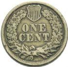 Photo numismatique  MONNAIES MONNAIES DU MONDE ÉTATS-UNIS d'AMÉRIQUE du NORD  One cent de 1862.