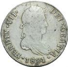 Photo numismatique  MONNAIES MONNAIES DU MONDE GUATEMALA FERDINAND VII, roi d'Espagne (1808-1833) 8 réales.