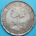 Photo numismatique  MONNAIES MONNAIES DU MONDE GUATEMALA République Centrale Américaine  8 réales.