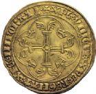 Photo numismatique  ARCHIVES VENTE 2014 -Coll J P Dixméras ROYALES FRANCAISES CHARLES VII (30 octobre 1422-22 juillet 1461)  255- Ecu neuf, 3ème type, 1ère émission (28 janvier 1436), Tours.