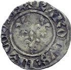 Photo numismatique  ARCHIVES VENTE 2014 -Coll J P Dixméras ROYALES FRANCAISES CHARLES VI (16 septembre 1380-21 octobre 1422)  250- Lot de 7 monnaies d'Angers.