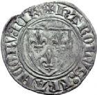 Photo numismatique  ARCHIVES VENTE 2014 -Coll J P Dixméras ROYALES FRANCAISES CHARLES VI (16 septembre 1380-21 octobre 1422)  249- Lot de 10 monnaies.
