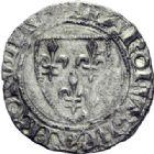 Photo numismatique  ARCHIVES VENTE 2014 -Coll J P Dixméras ROYALES FRANCAISES CHARLES VI (16 septembre 1380-21 octobre 1422)  248- Lot de 9 monnaies d'Angers.