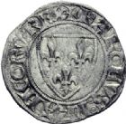 Photo numismatique  ARCHIVES VENTE 2014 -Coll J P Dixméras ROYALES FRANCAISES CHARLES VI (16 septembre 1380-21 octobre 1422)  248- Lot de 9 monnaies d'Angers.