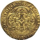 Photo numismatique  ARCHIVES VENTE 2014 -Coll J P Dixméras ROYALES FRANCAISES CHARLES VI (16 septembre 1380-21 octobre 1422)  245- Ecu d'or de la 3ème émission (11 septembre 1389), Paris.