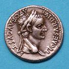 Photo numismatique MONNAIES EMPIRE ROMAIN TIBÉRE. (14-37) Denier.
