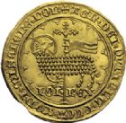 Photo numismatique  ARCHIVES VENTE 2014 -Coll J P Dixméras ROYALES FRANCAISES JEAN II LE BON (22 août 1350-18 avril 1364)  238- Mouton d'or (17 janvier 1355).