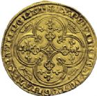 Photo numismatique  ARCHIVES VENTE 2014 -Coll J P Dixméras ROYALES FRANCAISES PHILIPPE VI DE VALOIS(1er avril 1328-22 août 1350)  234- Chaise d'or (17 juillet 1346).