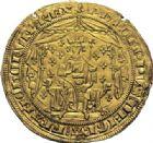 Photo numismatique  ARCHIVES VENTE 2014 -Coll J P Dixméras ROYALES FRANCAISES PHILIPPE VI DE VALOIS(1er avril 1328-22 août 1350)  232- Pavillon d'or (8 juin 1339).