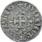 Photo numismatique  ARCHIVES VENTE 2014 -Coll J P Dixméras ROYALES FRANCAISES CHARLES IV LE BEL (3 janvier 1322–1er février 1328)  228- Double parisis, de la 3ème émission.