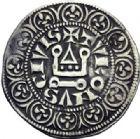 Photo numismatique  ARCHIVES VENTE 2014 -Coll J P Dixméras ROYALES FRANCAISES PHILIPPE IV LE BEL (5 octobre 1285-30 novembre 1314)  222- Gros tournois à l'O rond (2).
