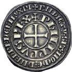 Photo numismatique  ARCHIVES VENTE 2014 -Coll J P Dixméras ROYALES FRANCAISES PHILIPPE IV LE BEL (5 octobre 1285-30 novembre 1314)  220- Gros tournois à l'O rond.