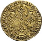 Photo numismatique  ARCHIVES VENTE 2014 -Coll J P Dixméras ROYALES FRANCAISES PHILIPPE IV LE BEL (5 octobre 1285-30 novembre 1314)  219- Agnel d'or (26 janvier 1311).