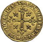 Photo numismatique  ARCHIVES VENTE 2014 -Coll J P Dixméras ROYALES FRANCAISES PHILIPPE IV LE BEL (5 octobre 1285-30 novembre 1314)  218- Florin d'or dit « à la Reine » (1305).