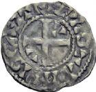 Photo numismatique  ARCHIVES VENTE 2014 -Coll J P Dixméras ROYALES FRANCAISES LOUIS VI (29 juillet 1108-1er août 1137)  212- Denier du 3ème type, Etampes.