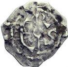 Photo numismatique  ARCHIVES VENTE 2014 -Coll J P Dixméras ROYALES FRANCAISES HUGUES CAPET (3 juillet 987-24 octobre 996)  210- Obole, Beauvais.