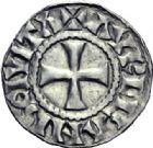 Photo numismatique  ARCHIVES VENTE 2014 -Coll J P Dixméras CAROLINGIENS RAOUL (13 juillet 923-janvier 936)  209- Denier postérieur d'Orléans.