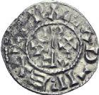 Photo numismatique  ARCHIVES VENTE 2014 -Coll J P Dixméras CAROLINGIENS RAOUL (13 juillet 923-janvier 936)  208- Denier postérieur d'Orléans.