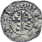 Photo numismatique  ARCHIVES VENTE 2014 -Coll J P Dixméras CAROLINGIENS RAOUL (13 juillet 923-janvier 936)  206- Denier postérieur de Château-Landon.