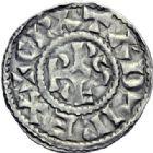 Photo numismatique  ARCHIVES VENTE 2014 -Coll J P Dixméras CAROLINGIENS RAOUL (13 juillet 923-janvier 936)  205- Denier contemporain d'Orléans.