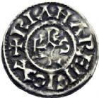 Photo numismatique  ARCHIVES VENTE 2014 -Coll J P Dixméras CAROLINGIENS CHARLES LE SIMPLE (28 janvier 893-destitué en 923)  202- Denier attribuable à Langres.