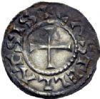 Photo numismatique  ARCHIVES VENTE 2014 -Coll J P Dixméras CAROLINGIENS CHARLES LE CHAUVE, roi (840-875) - empereur (jour de Noël 875-6 octobre 877)  198- Denier de Mont-Lassois (Côte d'Or).