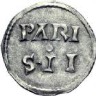 Photo numismatique  ARCHIVES VENTE 2014 -Coll J P Dixméras CAROLINGIENS CHARLES LE CHAUVE, roi (840-875) - empereur (jour de Noël 875-6 octobre 877)  193- Denier de Paris, avant 864.