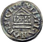 Photo numismatique  ARCHIVES VENTE 2014 -Coll J P Dixméras CAROLINGIENS CHARLES LE CHAUVE, roi (840-875) - empereur (jour de Noël 875-6 octobre 877)  192- Obole, 840-864.