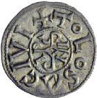 Photo numismatique  ARCHIVES VENTE 2014 -Coll J P Dixméras CAROLINGIENS PEPIN II, roi d'Aquitaine (839-852)  188- Denier de Toulouse.
