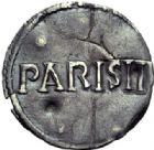 Photo numismatique  ARCHIVES VENTE 2014 -Coll J P Dixméras CAROLINGIENS LOUIS LE PIEUX, empereur (janvier 814-20 juin 840)  183- Denier de Paris, jusqu'en 823.