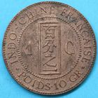 Photo numismatique  MONNAIES MONNAIES DU MONDE INDOCHINE 3e République (1871-1940) 1 centième de piastre de 1887.