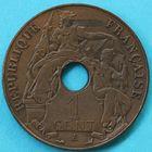 Photo numismatique  MONNAIES MONNAIES DU MONDE INDOCHINE 3e République (1871-1940)  Piéfort de 1 cent de 1908.