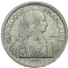 Photo numismatique  MONNAIES MONNAIES DU MONDE INDOCHINE Gouvernement Provisoire (1944-1947) 20 centimes de 1945.